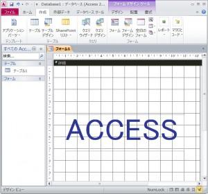 アクセス2010
